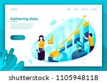vector concept illustration  ... | Shutterstock .eps vector #1105948118