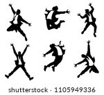 vector illustration of men's... | Shutterstock .eps vector #1105949336