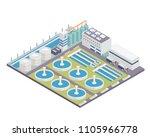modern isometric water... | Shutterstock .eps vector #1105966778