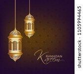 ramadan kareem islamic greeting ... | Shutterstock .eps vector #1105994465