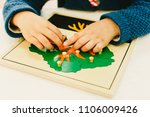 boys and girls students in a... | Shutterstock . vector #1106009426