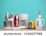 household and kitchen... | Shutterstock . vector #1106037488