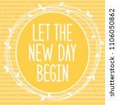 let the new day begin. vector... | Shutterstock .eps vector #1106050862