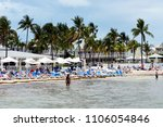 south beach  key west  fl may... | Shutterstock . vector #1106054846