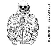 hand drawn illustration of... | Shutterstock .eps vector #1106058875