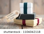 happy fathers day label... | Shutterstock . vector #1106062118