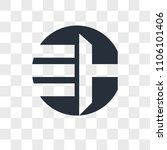 eh he vector icon isolated on... | Shutterstock .eps vector #1106101406