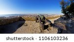 sao jorge  st. george  castle... | Shutterstock . vector #1106103236