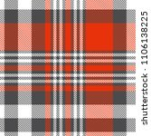 seamless plaid check pattern in ... | Shutterstock .eps vector #1106138225