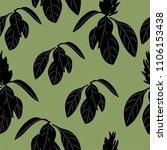 floral seamless pattern. design ... | Shutterstock .eps vector #1106153438