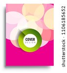 abstract colorful background... | Shutterstock .eps vector #1106185652