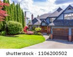 a perfect neighborhood. houses... | Shutterstock . vector #1106200502