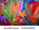 Abstract Art Backgrounds. Hand...