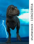 T Rex In The Wild World Storm...