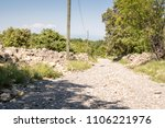 stony way to the horizont | Shutterstock . vector #1106221976