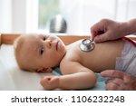 little baby boy  toddler child... | Shutterstock . vector #1106232248