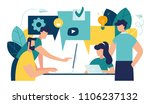 vector illustration  flat style ... | Shutterstock .eps vector #1106237132