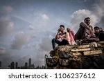 mumbai  india. august 8 2017.... | Shutterstock . vector #1106237612