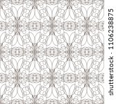 seamless pattern with wavy... | Shutterstock .eps vector #1106238875