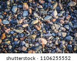 details of shingle beach of the ... | Shutterstock . vector #1106255552
