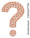 question figure made with baby... | Shutterstock .eps vector #1106267756