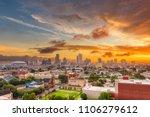 new orleans  louisiana  usa...   Shutterstock . vector #1106279612