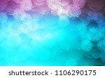 light pink  blue vector... | Shutterstock .eps vector #1106290175