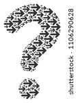 question figure composed of... | Shutterstock .eps vector #1106290628