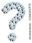 answer shape composed with... | Shutterstock .eps vector #1106291975