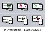 6 variations of vector two...   Shutterstock .eps vector #1106303216