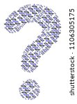 answer composition formed with... | Shutterstock .eps vector #1106305175