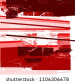 grunge abstract background... | Shutterstock .eps vector #1106306678
