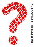 question shape constructed from ... | Shutterstock .eps vector #1106309576