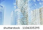 city life. abstract background... | Shutterstock . vector #1106335295