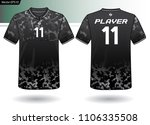 sports jersey template for team ... | Shutterstock .eps vector #1106335508