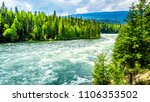 view of the rapids in bailey's... | Shutterstock . vector #1106353502
