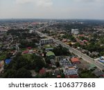 aerial view of the road at... | Shutterstock . vector #1106377868