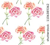 seamless pattern with pairs of... | Shutterstock . vector #1106385362