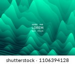 pattern with optical illusion.... | Shutterstock .eps vector #1106394128