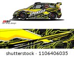 car graphic background vector.... | Shutterstock .eps vector #1106406035