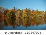 View On Autumn Landscape Of...