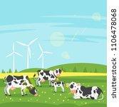 vector cartoon style... | Shutterstock .eps vector #1106478068
