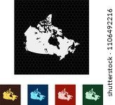 map of canada   Shutterstock .eps vector #1106492216