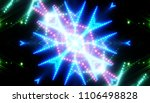 bokeh light blue abstract... | Shutterstock . vector #1106498828