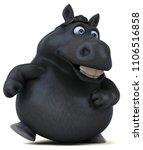 fun horse   3d illustration   Shutterstock . vector #1106516858
