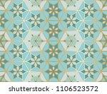 arabic seamless pattern.... | Shutterstock .eps vector #1106523572