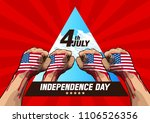 4th july independence day ... | Shutterstock .eps vector #1106526356
