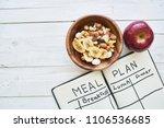 correct food healthy food...   Shutterstock . vector #1106536685
