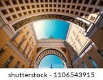 the arch of the general staff... | Shutterstock . vector #1106543915