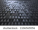 abstract 3d minimalistic... | Shutterstock . vector #1106565056